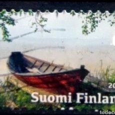 Selos: FINLANDIA 2017 LAS ESTACIONES VERANO SELLO USADO. Lote 214239001