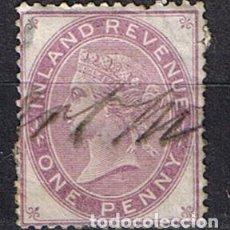 Sellos: INGLATERRA 1881-1891 PENNY LILAC REINA VICTORIA FONDO PLANO- SELLOS ANTIGUOS CLASICOS. Lote 218131473