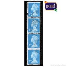 Sellos: GRAN BRETAÑA 1993. MICHEL 1214CS. YVERT 1671. REINA ELIZABETH II. USADO. Lote 218795510