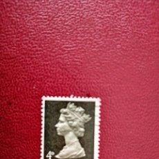 Selos: GRAN BRETAÑA - VALOR FACIAL 4 D - REINA ISABEL II. Lote 219450742