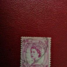 Selos: GRAN BRETAÑA - VALOR FACIAL SIX PENCE - REINA ISABEL II. Lote 219452552