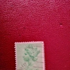 Selos: GRAN BRETAÑA - VALOR FACIAL 12 1/2 P - REINA ISABEL II. Lote 219474827