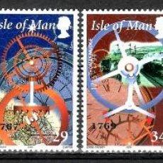 Sellos: SELLOS ISLA DE MAN 2000 886/91 RELOJES 6V. B. Lote 221864796