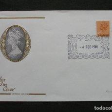 Sellos: GRAN BRETAÑA - SOBRE PRIMER DIA MATASELLO WINDSOR-BERKS 1980. Lote 222140242