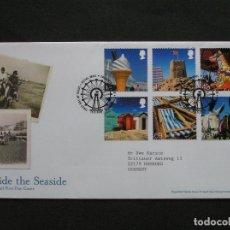 Sellos: GRAN BRETAÑA - SOBRE PRIMER DIA BESIDE THE SEASIDE - TALLENTS HOUSE EDIMBURGO 2007. Lote 222142911