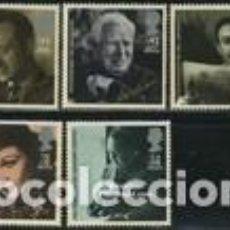 Sellos: SELLOS NUEVOS CON LIGERAS MARCAS DE CHARNELAS DE GRAN BRETAÑA, YT 1195/ 99. Lote 222201625