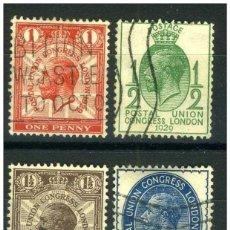 Sellos: SELLOS USADOS DE GRAN BRETAÑA, YT 179/ 82. Lote 222202958