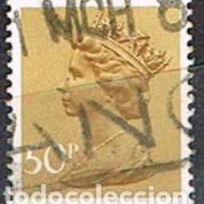 Sellos: GRAN BRETAÑA Nº 8212, LA REINA ISABEL II, USADO. Lote 222221137