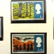 Sellos: GRAN BRETAÑA 1965 - FOTO 121 - Nº 437 IVERT ,NUEVO,COMPLETA. Lote 222567948