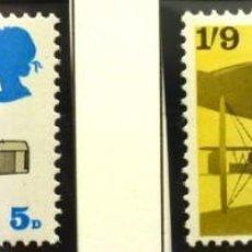 Sellos: GRAN BRETAÑA 1969 - FOTO 137 - Nº 558 IVERT , COMPLETA , NUEVO. Lote 222581238