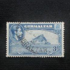 Sellos: GRAN BRETAÑA GIBRALTAR, 3D, AÑO 1938.. Lote 222594506