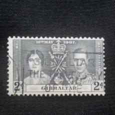 Sellos: GRAN BRETAÑA GIBRALTAR, 2D, CORONACION, AÑO 1937.. Lote 222595673