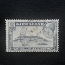 Sellos: GRAN BRETAÑA GIBRALTAR, TWO PENCE, AÑO 1931.. Lote 222597913