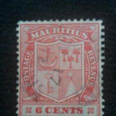 Sellos: GRAN BRETAÑA, MAURITIUS, 2D, AÑO 1895.. Lote 222600635