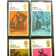Sellos: GRAN BRETAÑA 1970 - FOTO 143 - Nº 591 IVERT , COMPLETA , NUEVO. Lote 222608365