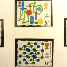 Sellos: GRAN BRETAÑA 1977 - FOTO 193 - Nº 825 - IVERT , COMPLETA , NUEVO. Lote 222642800