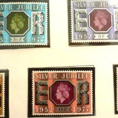Timbres: GRAN BRETAÑA 1977 - FOTO 194 - Nº 829 - IVERT , COMPLETA , NUEVO. Lote 222643116