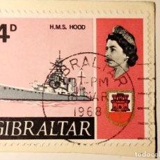 Sellos: GIBRALTAR 1967 BARCOS. Lote 223023916