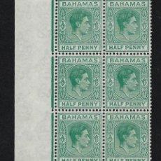 Sellos: BAHAMAS 1938 Nº 101 ** MNH. Lote 223310243