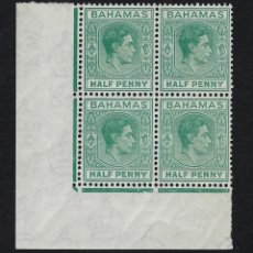 Sellos: BAHAMAS 1938 Nº 101 ** MNH. Lote 223310327