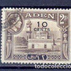 Sellos: ADEN- COLONIA BRITANICA. Lote 223512542