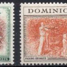 Sellos: DOMINICA/1951/MH/SC#122, 124, 126 134/ REY JORGE VI / KGVII / REALEZA. Lote 213404685