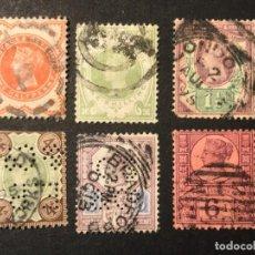 Sellos: GRAN BRETAÑA 1887 ANIVERSARIO REINA VICTORIA, INCLUYE 1 SHELING. Lote 226683005