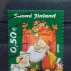 Sellos: FINLANDIA 2005 NAVIDAD SELLO USADO. Lote 227109860