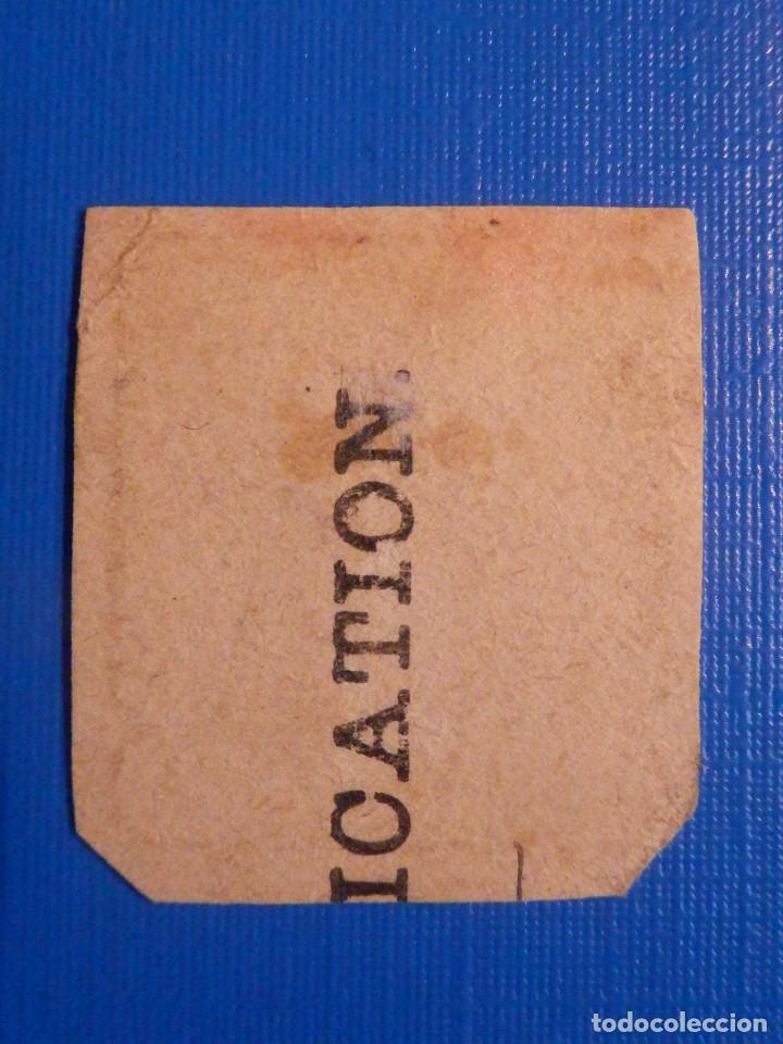 Sellos: Antiguo Sello raro - Quarter Anna - Britanico ó de colonias excolonias Británicas - Sin determinar - Foto 2 - 227251095
