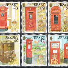 Sellos: [CF-A7503] JERSEY 2002; SERIE BUZONES (MNH). Lote 228224510