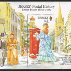 Sellos: [CF-A7514] JERSEY 2002; HB BUZONES (MNH). Lote 228225225