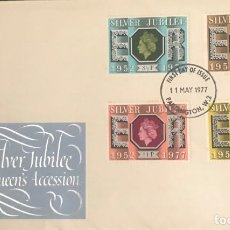 Sellos: SILVER JUBILEE STAMPS 1952. Lote 228322725