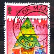 Selos: ISLA DE MAN 2006 NAVIDAD SELLO USADO. Lote 273572578