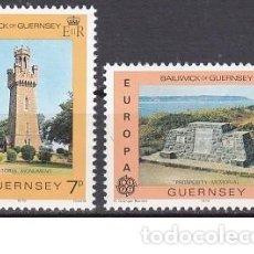Sellos: LOTE DE SELLOS NUEVOS - REINO UNIDO - ISLA DE GUERNSEY - EUROPA - AHORRA GASTOS COMPRA MAS SELLOS. Lote 233396060
