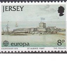 Sellos: LOTE DE SELLOS NUEVOS - JERSEY 1978 - EUROPA - AHORRA GASTOS COMPRA MAS SELLOS. Lote 233604815