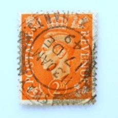 Sellos: SELLO POSTAL GRAN BRETAÑA REINO UNIDO 1941, 2 D, REY GEORGE VI ,USADO. Lote 236775100