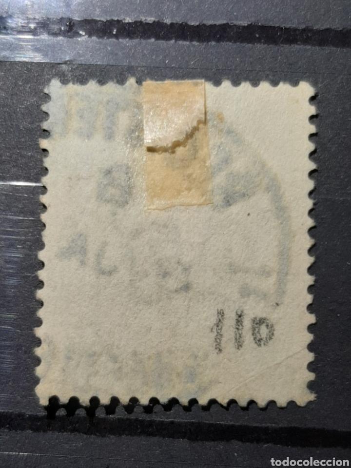 Sellos: (GRAN BRETAÑA)(1887-1892)(SCOTT#122) REINA VICTORIA 1 SHILLING - Foto 2 - 236787540