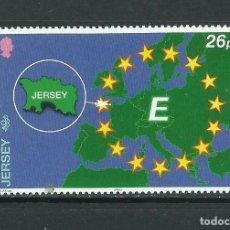 Sellos: JERSEY 2000 IVERT 921 *** JERSEY EN EUROPA 2000. Lote 239667530