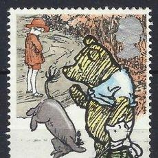 """Selos: GRAN BRETAÑA 1979 - AÑO INTERNACIONAL DEL NIÑO, CUENTOS INFANTILES, """"WINNIE THE POOH"""" - USADO. Lote 243518330"""