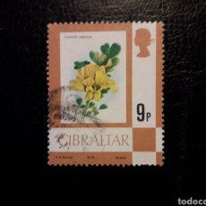 Sellos: GIBRALTAR (GRAN BRETAÑA) YVERT 388 SERIE COMPLETA USADA 1978. FLORA. FLORES. PEDIDO MÍNIMO 3 €. Lote 243864510