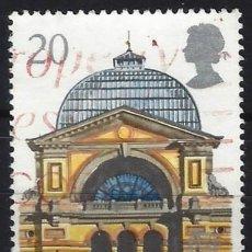 Sellos: GRAN BRETAÑA 1990 - GLASGOW, CAPITAL CULTURAL EUROPEA, PALACIO DE ALEXANDRA - USADO. Lote 244738255