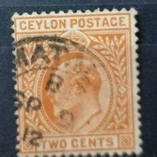 Sellos: COLONIAS BRITANICA. CEYLON, EDUARDO VII.1904 *MH (21-147). Lote 251225010