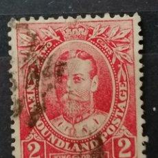 Sellos: COLONIAS BRITANICA. TERRANOVA, JORGE V. *MH (21-147). Lote 251225135