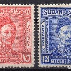 Sellos: SUDAN/1935/MH/SC#53-4/ CHARLES GEORGE GORDON. Lote 252755775