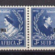 Timbres: SOUTH WEST AFRICA/1948/MNH/SC#159/25º ANIV DE LA BODA DEL REY JORGE VI & REINA ELIZABETH / KGVI. Lote 252757990