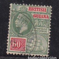 Sellos: GUYANA BRITÁNICA .134 USADA, JORGE V. Lote 255598510