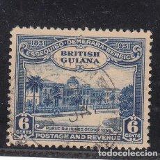 Sellos: GUYANA BRITÁNICA .140 USADA, CENTENARIO DE LA UNIFICACIÓN,. Lote 255599555