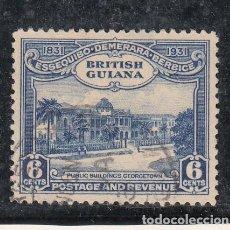 Sellos: GUYANA BRITÁNICA .140 USADA, CENTENARIO DE LA UNIFICACIÓN,. Lote 255599710