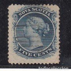 Sellos: NUEVA ESCOCIA COLONIA BRITÁNICA .7 USADA,. Lote 257445945