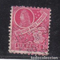 Sellos: NUEVA GALES DEL SUR COLONIA BRITÁNICA .62 USADA,. Lote 257484140